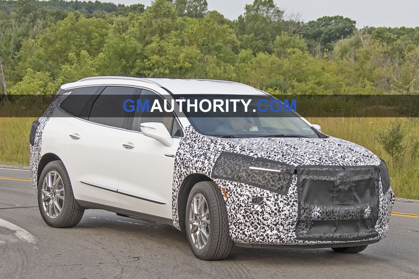 2022 Buick Enclave Spy Photos New Model and Performance