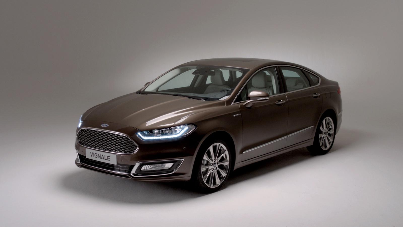 2022 Ford Mondeo Vignale Configurations