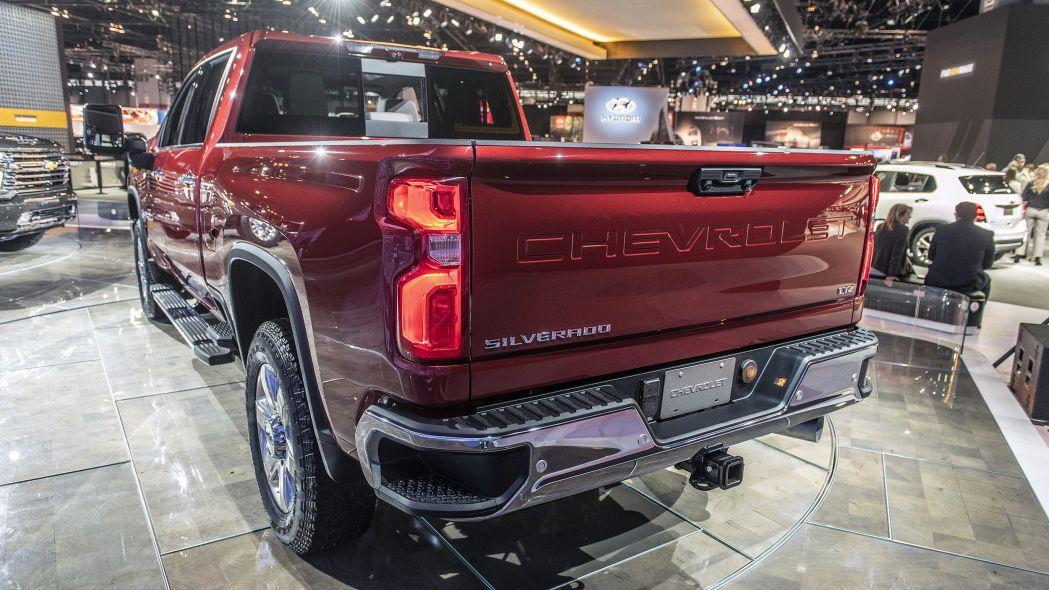 2023 Silverado Hd Model